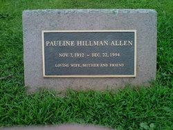 Pauline Elaine <i>Hillman</i> Allen