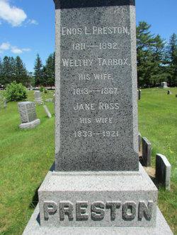 Welthy <i>Tarbox</i> Preston