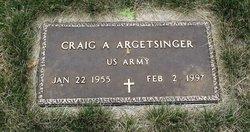 Craig A Argetsinger