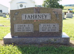 June Lorene <i>Moomaw</i> Fahrney