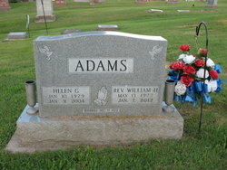 William Harrison Bill Adams