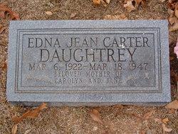 Edna Jean <i>Carter</i> Daughtrey
