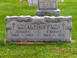 Adaline <i>Ward</i> Althoff