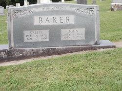 Sallie Frances <i>Baker</i> Baker