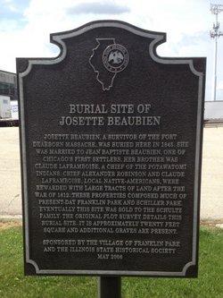 Josette Beaubien Burial Site