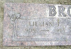 Lillian Johanna <i>Peterson</i> Brown