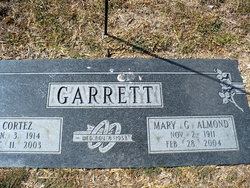 Mary G. <i>Almond</i> Garrett