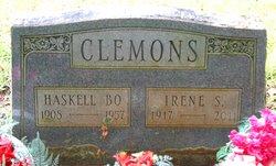 Irene S <i>Parlier</i> Clemons
