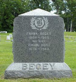 Emma Louise <i>Hory</i> Begey