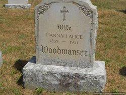 Hannah Alice Woodmansee