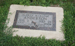 Audrey Marlene <i>Hanson</i> Anderson