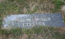 Marie Sissela <i>Larsen</i> Hanson