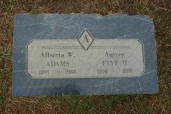 Alburta W Adams