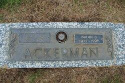Naomi G Ackerman