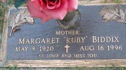 Margaret Ruby Biddix