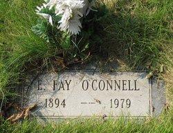 E Fay O'Connell