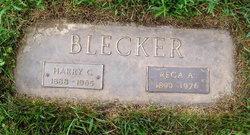Fredericka Dorothea <i>Harmsen</i> Blecker