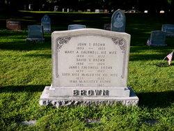 Mary Ann <i>Caldwell</i> Brown