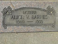 Alice V. Barnes