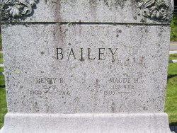 Maude H Bailey
