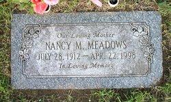 Nancy M Meadows