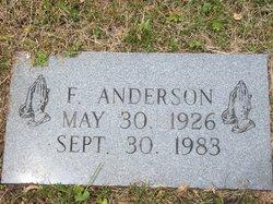 F Anderson