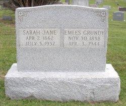 Sarah Jane <i>Martin</i> Bannon