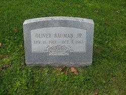 Oliver Bauman, Jr