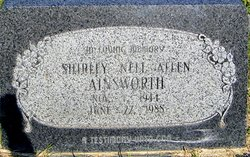 Shirley Nell <i>Allen</i> Ainsworth