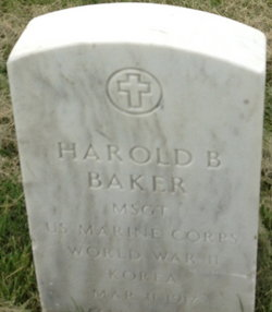 Sgt Harold Benjamin Baker