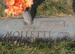 Mary A <i>Slatter</i> Molletti
