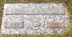 Esther M. <i>Larson</i> Bratton