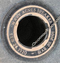 Mary Agnes <i>Mayeaux</i> Speaker