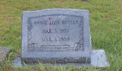 Annie Lois Butler