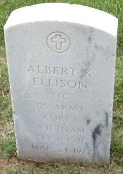 Albert K Ellison