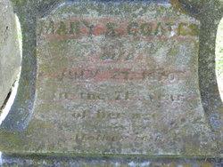 Mary J <i>Spencer</i> Coates