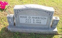 Rixie Delbert Harrison
