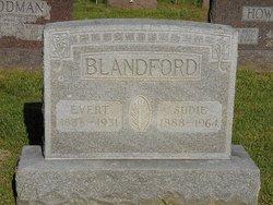Sudie B <i>Calvert</i> Blandford