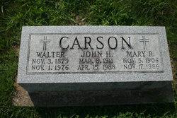 Mary Rose <i>Coleman</i> Carson