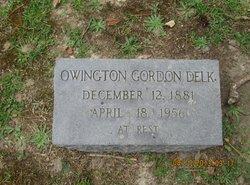 Owington Gordon Delk