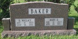 Mary <i>Dobbins</i> Baker