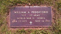 William Alexander Peddicord