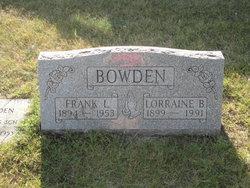 Frank Lester Bowden