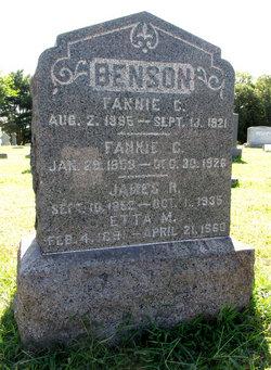 Fannie C. Benson