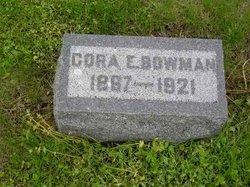 Cora E. <i>Fisher</i> Bowman