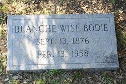 Eliza Blanche <i>Wise</i> Bodie