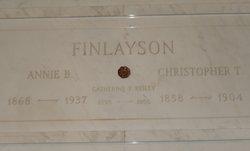 Catherine Alice Kate <i>Finlayson</i> Reilly