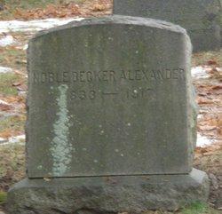 Noble Decker Alexander