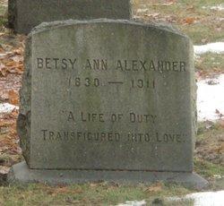 Betsy Ann Alexander
