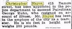 Christopher Chris Hayes, Jr